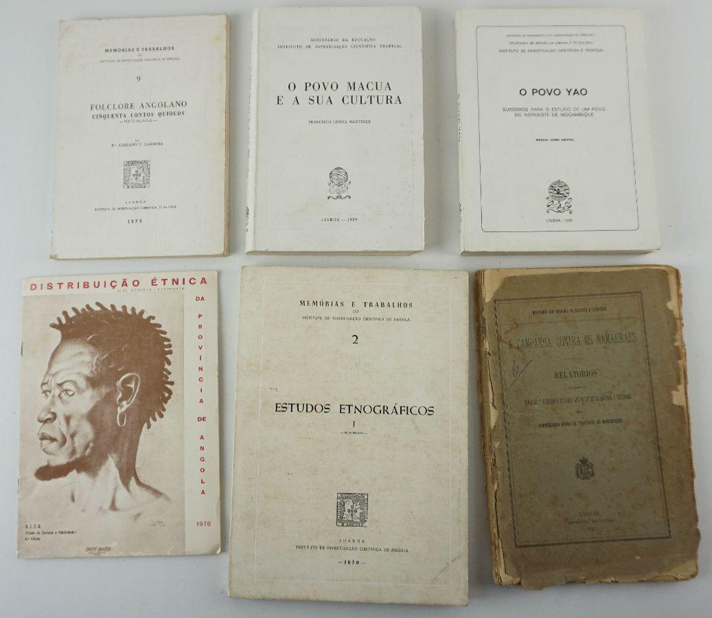 Livros sobre Africa e Etnologia