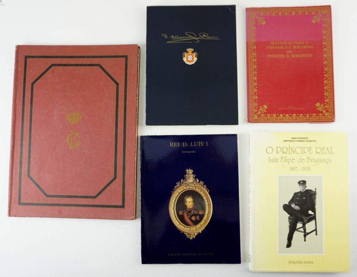 Livros Família Real Portuguesa