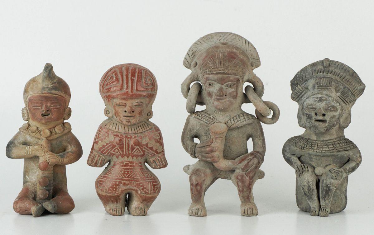 4 Esculturas Pré-Colombianas