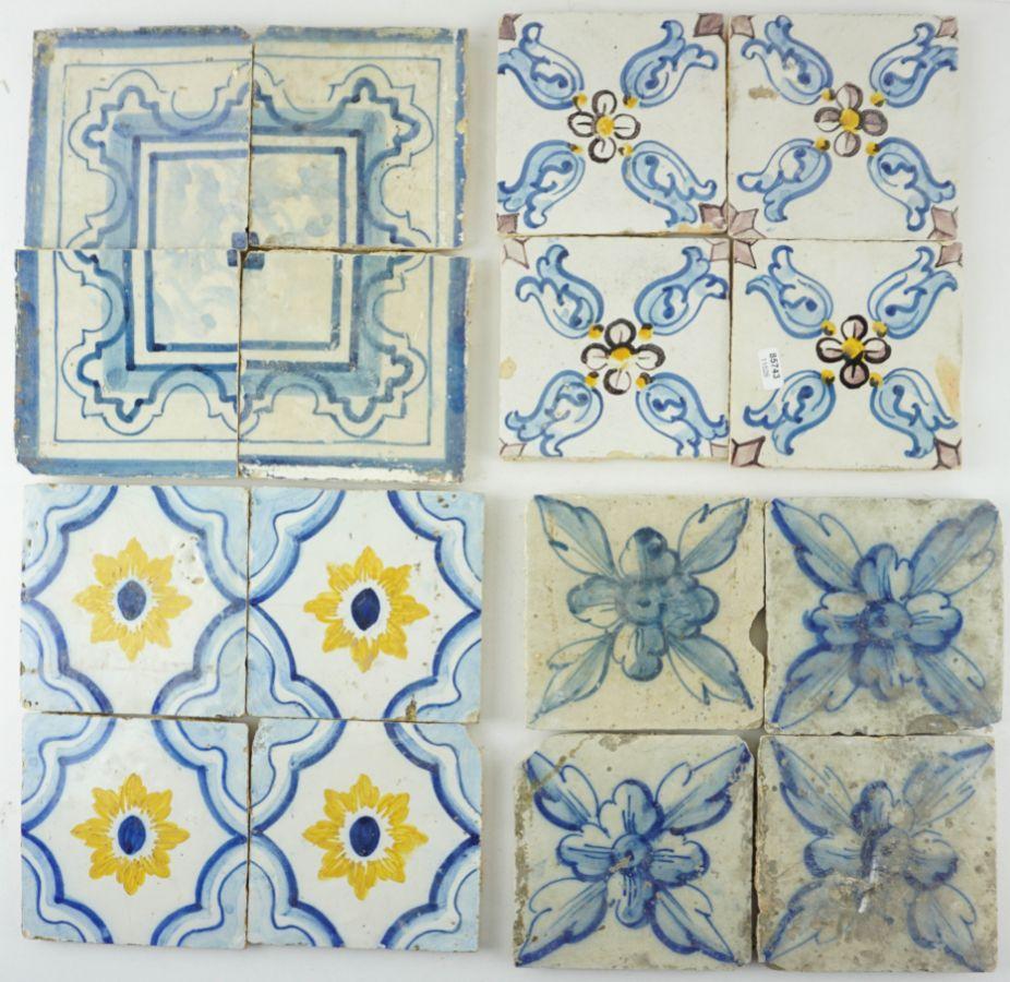 4 Quadras de Azulejos