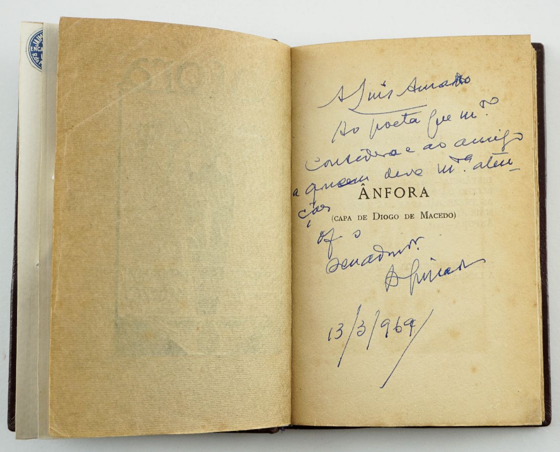 Alfredo Guisado – com dedicatória