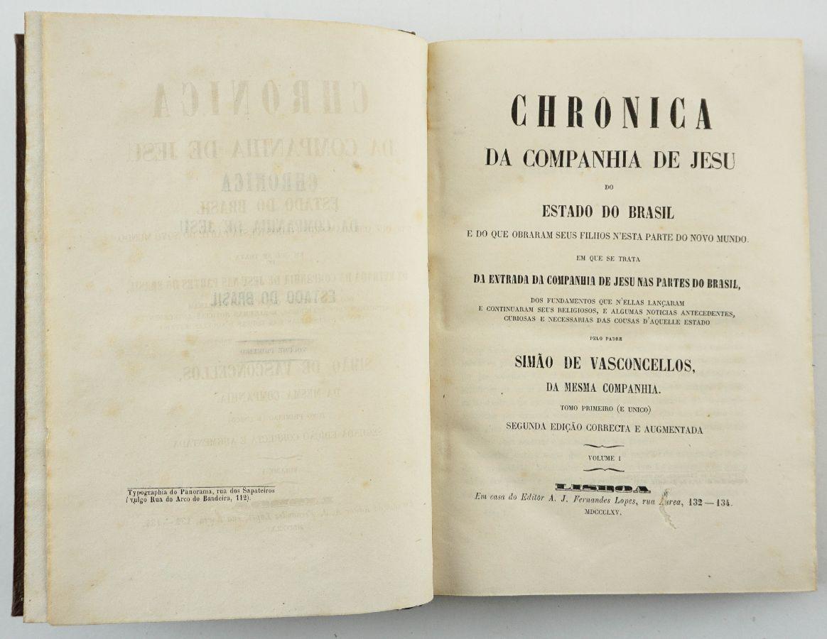 Crónica da Companhia de Jesus (1865)