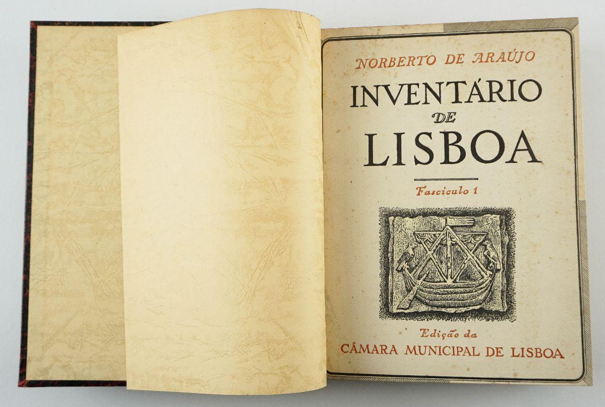 Norberto de Araújo – Inventário de Lisboa