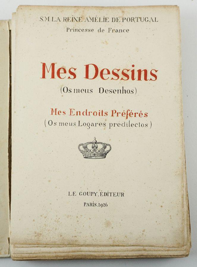 S. M. La Reine Amélie Princesse de France – Mês Dessins