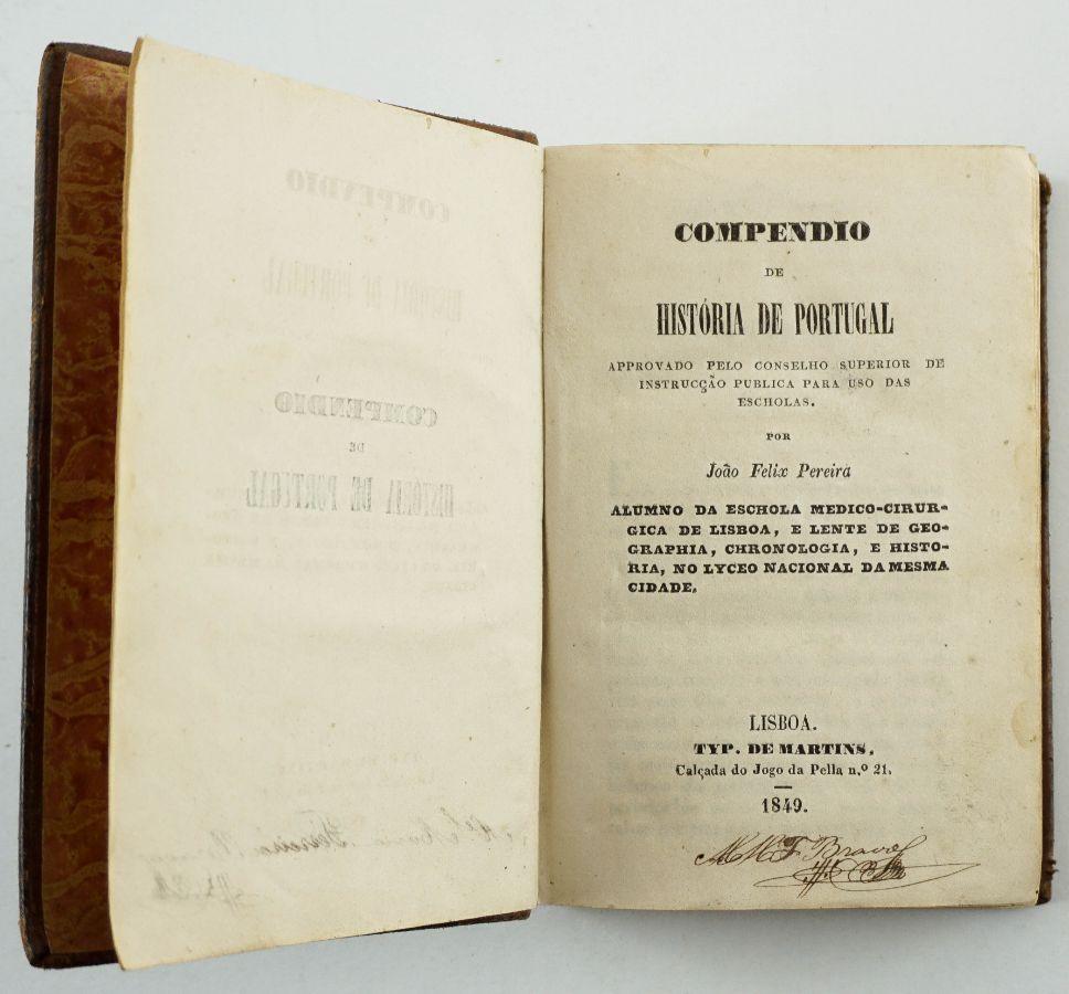 Compendio de História de Portugal (1849)
