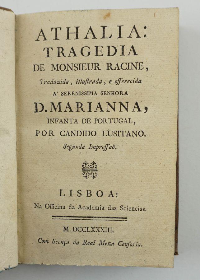 Racine – Cândido Lusitano (1783)
