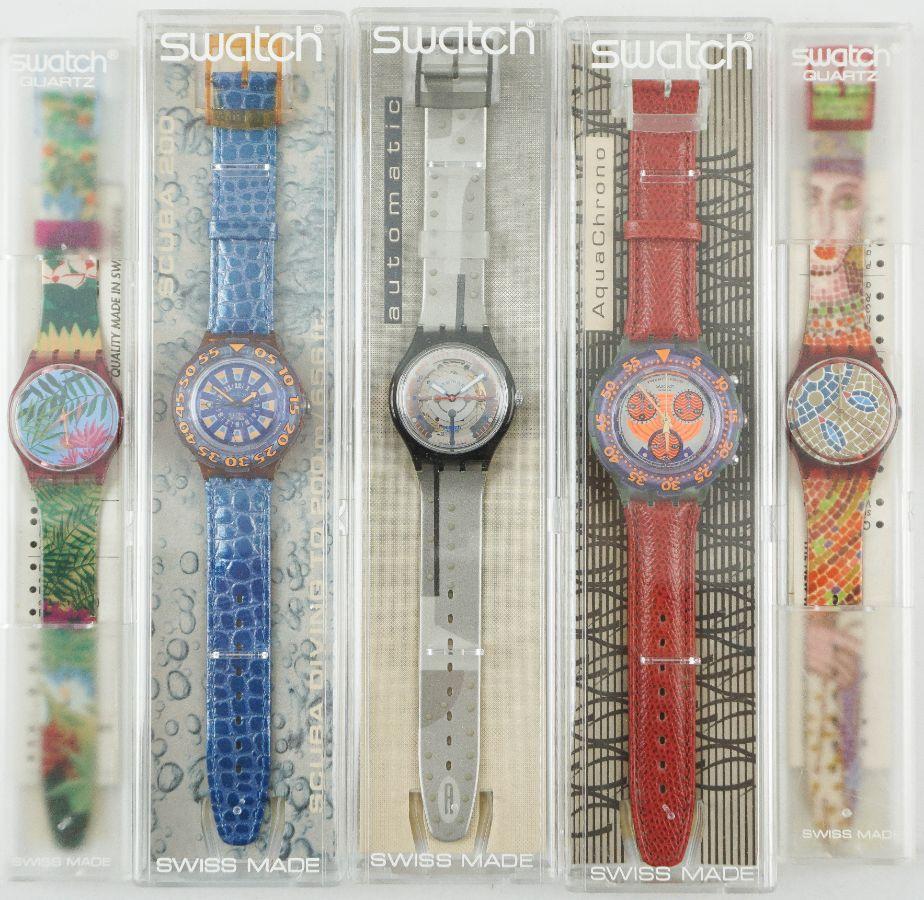 Swatch - 5 Relógios