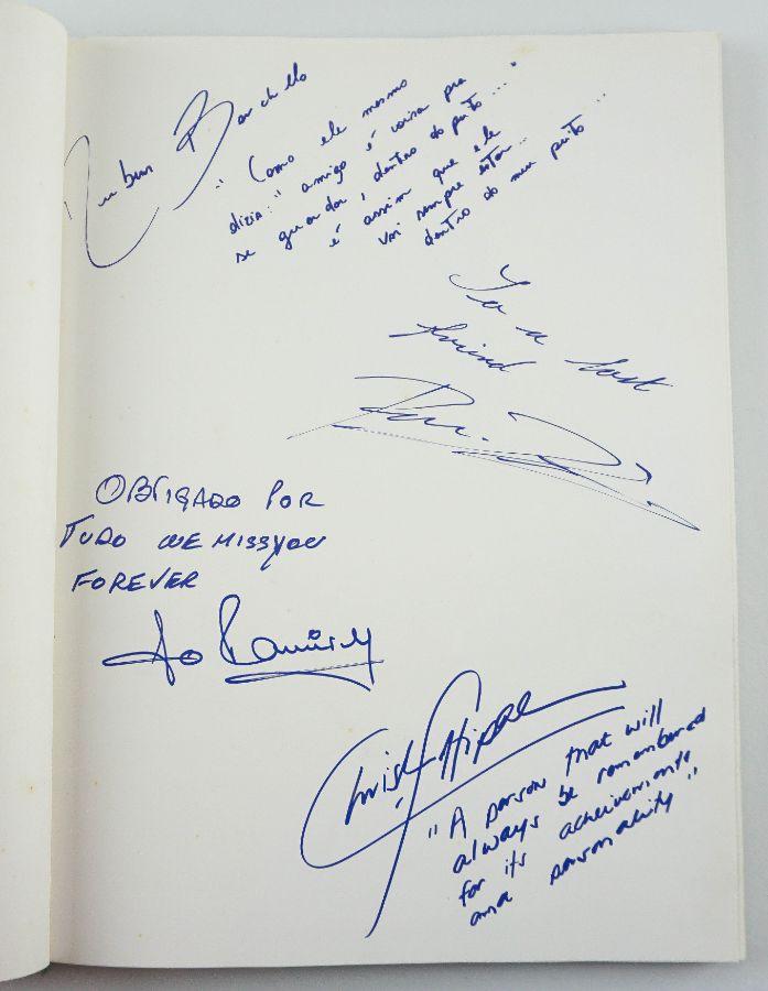 Ayrton Senna - com dedicatórias