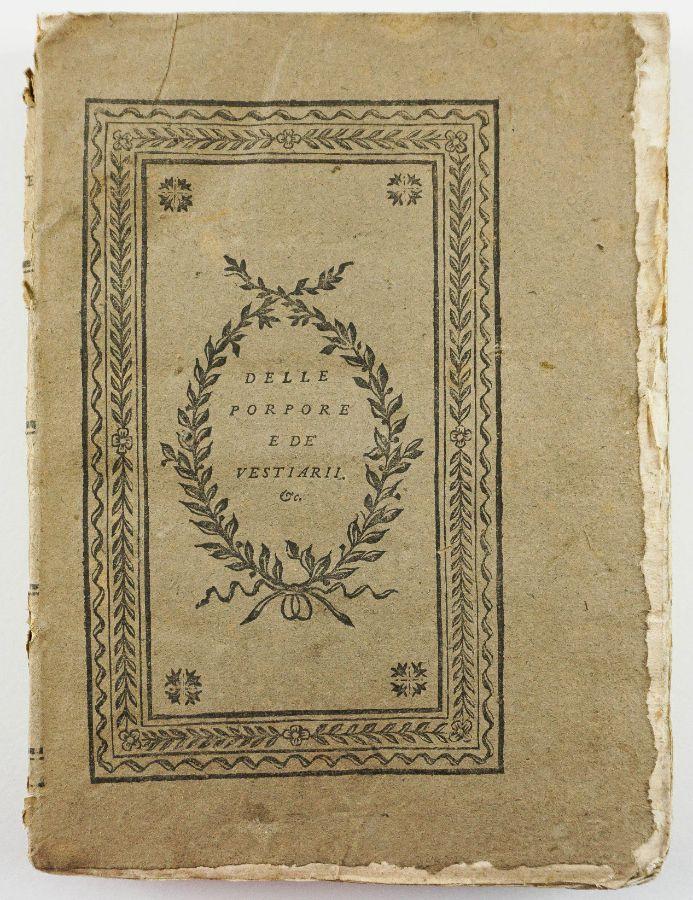 Tratado da cor purpura - 1786.