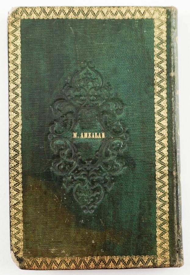 Livro antigo em Hebraico - Ros Ashana