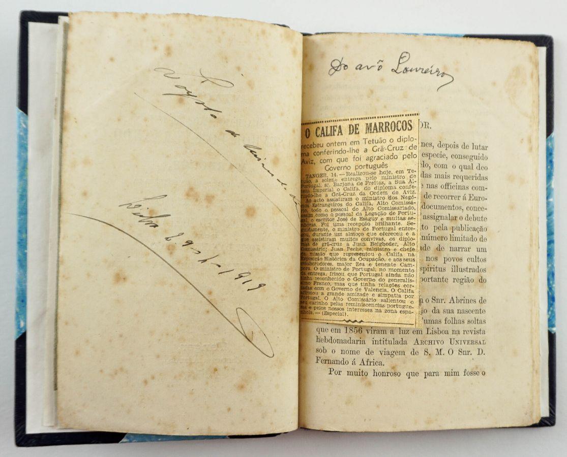O primeiro livro impresso em Tanger