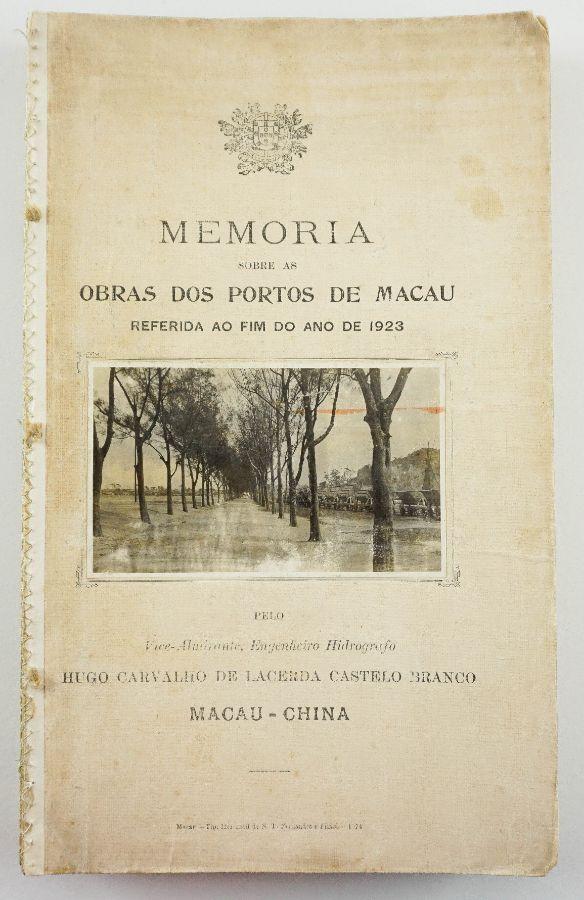 Memória sobre os portos de Macau