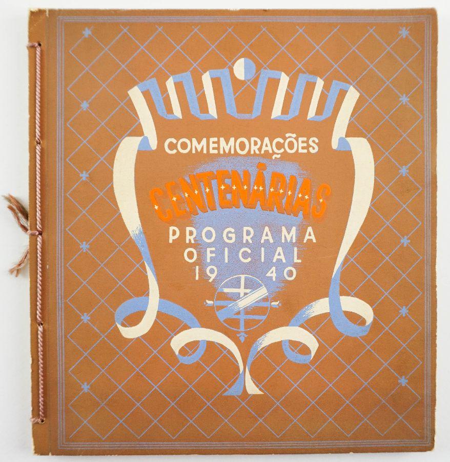 Programa oficial das comemorações 1940