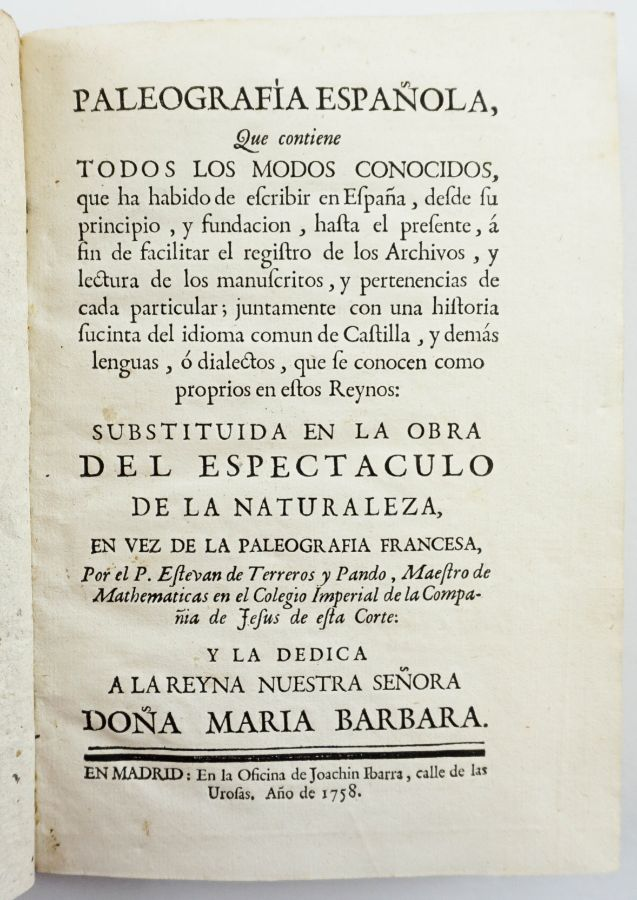 PALEOGRAFIA DE IBARRA