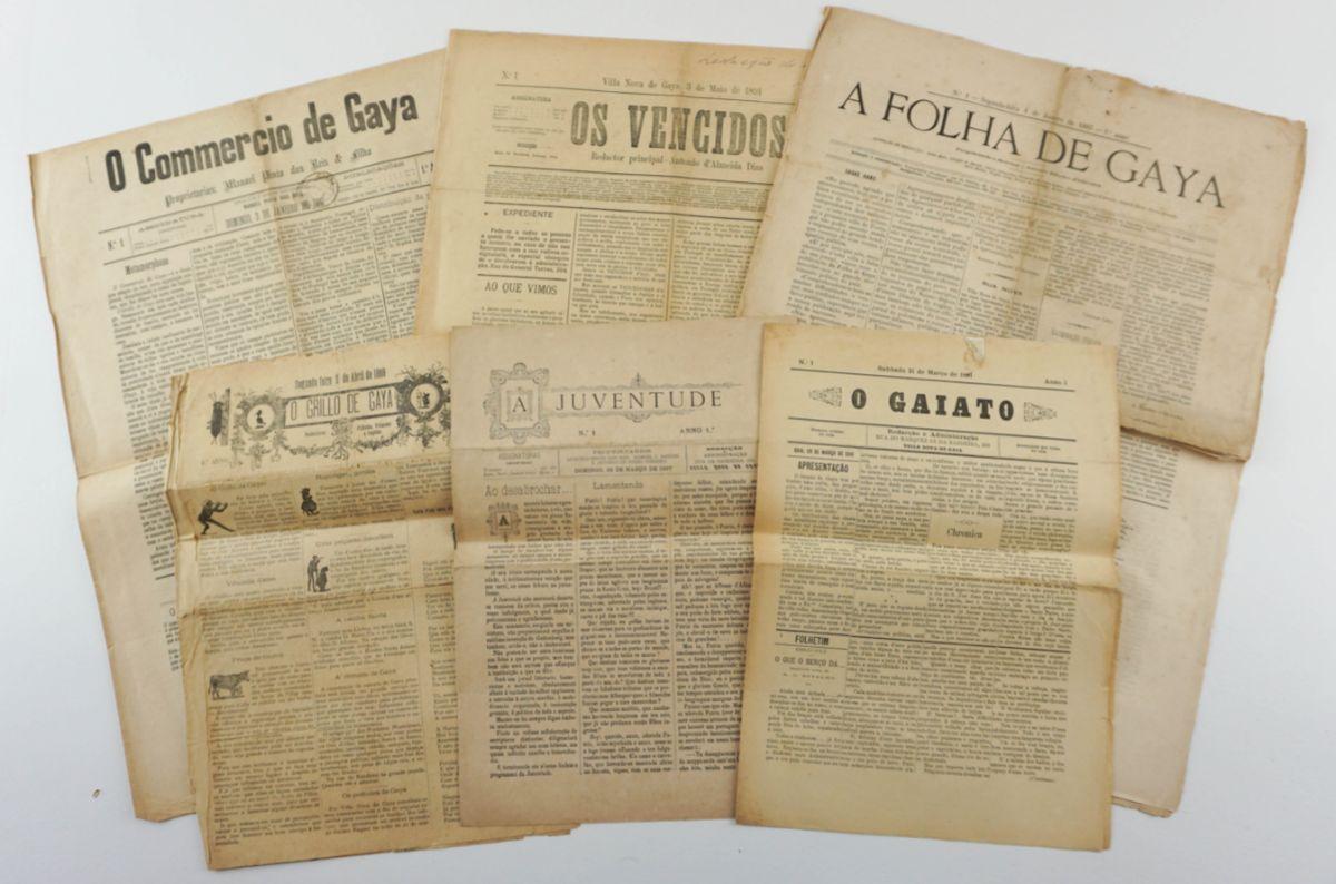 Nº 1 de Jornais e publicações de Vila Nova de Gaia