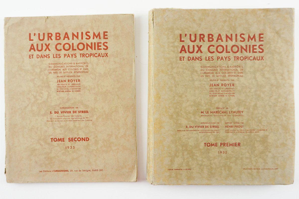 Urbanismo Colonial - 1932-1935