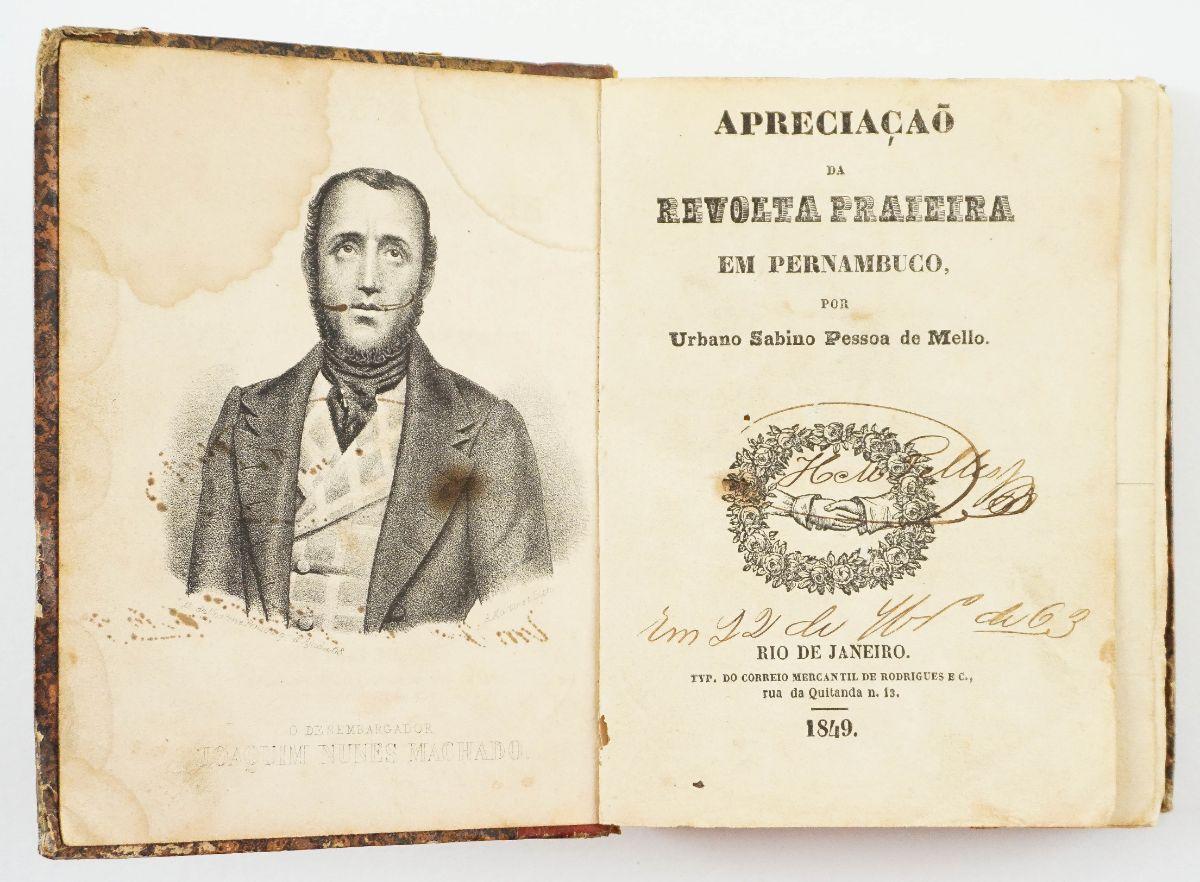 Revolta no Pernambuco- 1849
